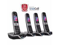 BT 8600 Advanced Call Blocker Cordless Phones QUAD
