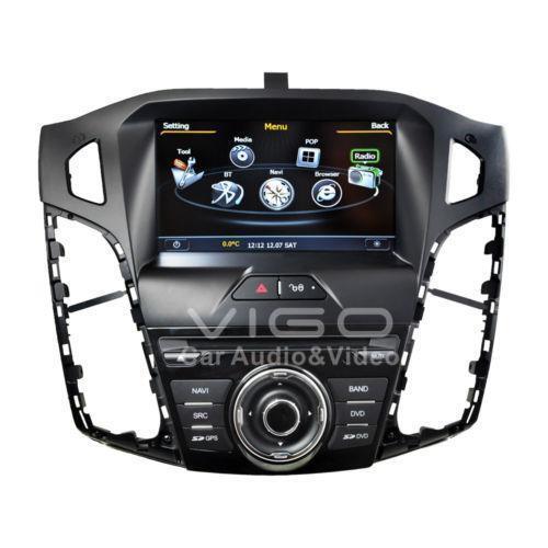 ford focus stereo vehicle electronics gps ebay. Black Bedroom Furniture Sets. Home Design Ideas