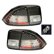Civic Red Clear Tail Lights