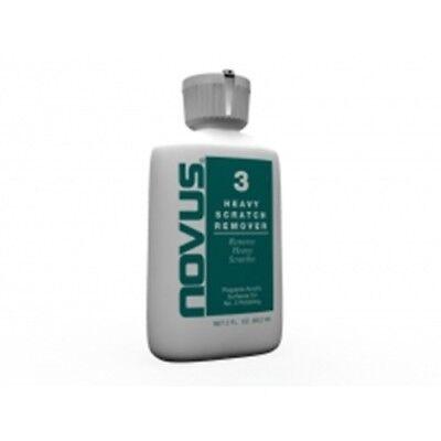 Novus Polish No. 3 Heavy Scratch Remover -8 oz bottle
