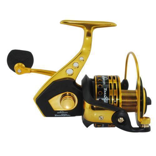 Open face reel ebay for Push button fishing reel