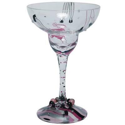 LOLITA HAND-PAINTED MARGARITA GLASS