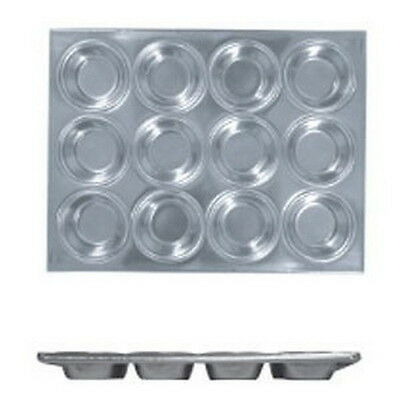 Aluminum Cake Muffin Pan 12 Cup #5910 S-3239
