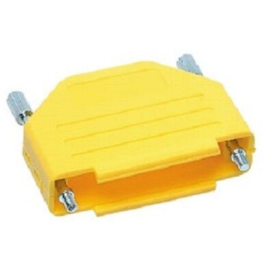 Snap-fit Colour Coded D-type Connector Cover 25 Way Yellow Dee D Series Snap Fit Connector