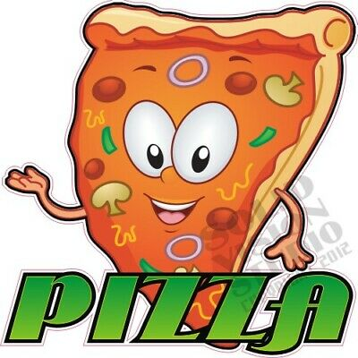 Pizza Concession Trailer Food Truck Restaurant Vinyl Sign Menu Waterproof Decal