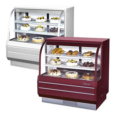 Turbo Air Tcgb-48-2 48-inch Curved Glass Refrigerated Bakery Display Case 14.8