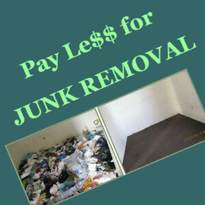 Junk removal specialist