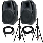 Powered Speakers 15