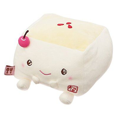 Cherry Sweets Stuffed Toy Cushion Size M  Hannari Tofu Japan Gift