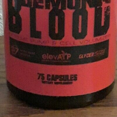 NEW!! Spitfire Labs Demons Blood pre-workout 75 caps (25 servings) 1