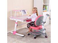 Ergonomic Kids Desk Height Adjustable Children Study Desk Tilting Desktop