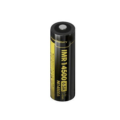 Nitecore NL14500A Li-Ion 3.7V Rechargeable Battery 2.40Wh 650mAh