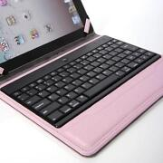 iPad 2 Case Keyboard Pink