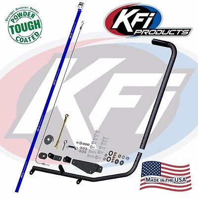 KFI ATV Snow Plow Blade Manual Lift Kit - Winch Alternative for KFI Push -