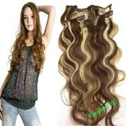 Clip in Human Hair Extensions Wave