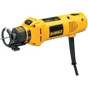 "DEWALT Cut-Out 5 Amp Rotary Tool with 1/8"" & 1/4""Collets-New"