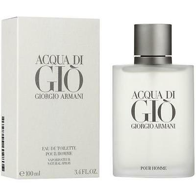 Acqua Di Gio Cologne by Giorgio Armani, 3.4 oz EDT Spray for Men NEW