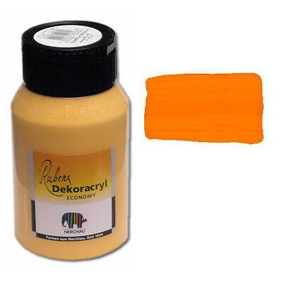 Dekoracryl Indischgelb 750 ml Acryl Gelb (6,85€/1L)