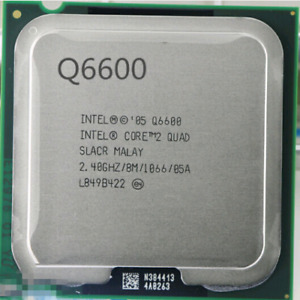 Intel Q6600 2.4Ghz socket LGA 775
