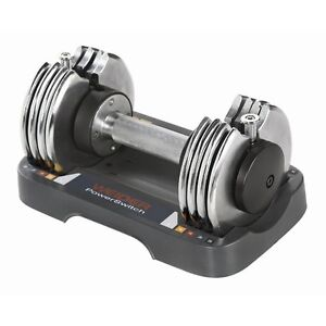 Weider 25 lbs Adjustable Speed Weight Dumbbell