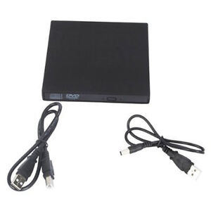 USB 2.0 External DVD ROM CD-RW Burner Drive CD±RW DVD Combo for all PC or laptop