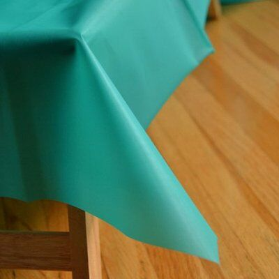 Teal Green Reusable Table Cover 54