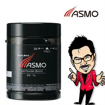 Asmo Hair Loss Concealer Thickening Fibers Building 15g Style Korea Powder Black