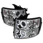 Spyder Auto Car & Truck Headlights Chrome (Crystal)