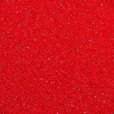 16oz RED Bulk Color Resin Incense Burner Heat Absorbing / Decorating Sand - Colored Sand Bulk
