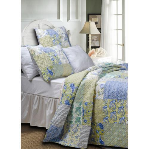 king size quilts yellow ebay. Black Bedroom Furniture Sets. Home Design Ideas