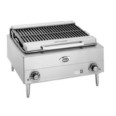 "Wells B-40 24"" Wide Electric Countertop Charbroiler"