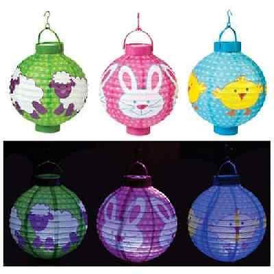 Light-Up Easter Lantern 3 Piece Set