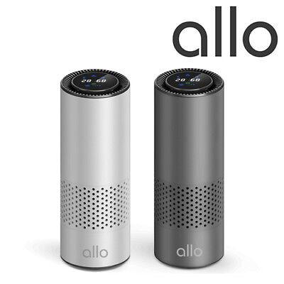 Allo Portable USB Air Cleaner Purifier HEPA Filter Carbon Filter Car Home Desk