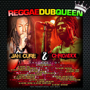 DJ Lass - Jah Cure & Chronixx Best Of Mixtape. Reggae Mix CD.