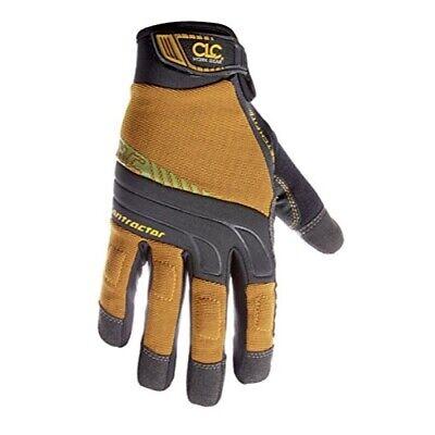 Clc Custom Leathercraft Contractor Xtracoverage Flex Grip Work Gloves Xx Large