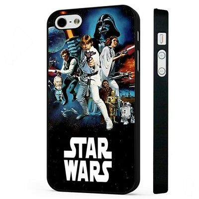 Star Wars Amazing Space Movie BLACK PHONE CASE COVER fits iPHONE