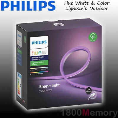 Philips Hue White & Color Ambiance Lightstrip Outdoor 2m LED