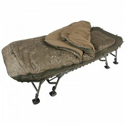Camp bed.