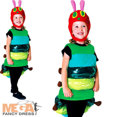 Deluxe The Very Hungry Caterpillar Kids Fancy Dress World Book Day Child Costume - The Hungry Caterpillar Costume