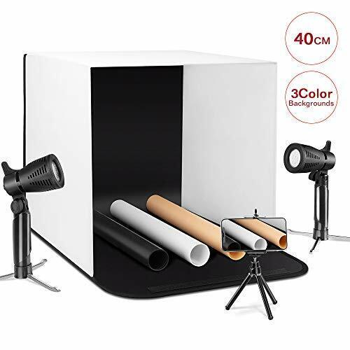 "ESDDI Photo Light Box Photography 16""x16""/40x40cm Portable T"