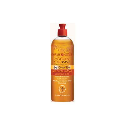 Creme Of Nature Argan Oil Apple Cider Vinegar Clarifying Rinse Cleansing 15.5oz Apple Cider Vinegar Cleaning