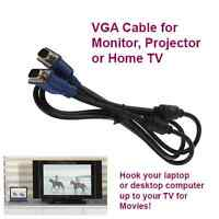 VGA Cable for monitor or TV