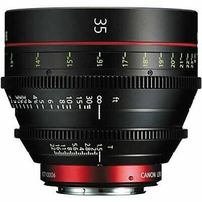 Canon CN-E 35mm T1.5 L F Cine Prime Lens EF Mount - International Version