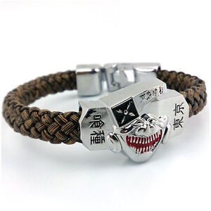 Anime Tokyo Ghoul Strap Bracelet Bangle Wristband Cosplay Costume Prop Gift Boy
