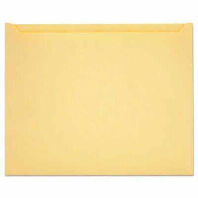 Quality Park Paper File Jackets 9 12 X 11 34manila 100 Per Box Qua63972