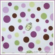 Purple Polka Dot Fabric