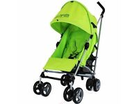 Zeta voom stroller with footmuff and raincover