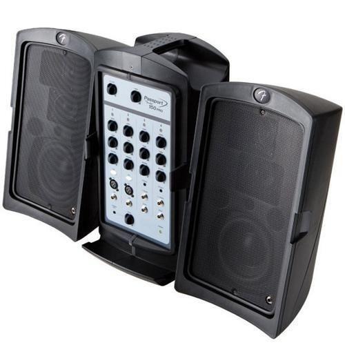 fender portable pa system ebay. Black Bedroom Furniture Sets. Home Design Ideas