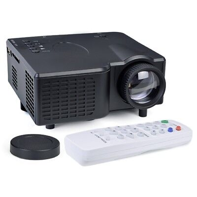 Alta Portable Mini Led Projector Hdmi Vga Usb Lcd Image Sd Slot   Controller