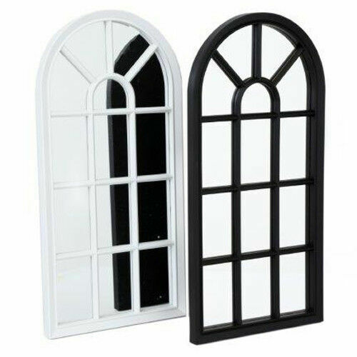mirror - Window Style Mirror Living Room Decor Hallway Home Panel Wall Glass 69 x 34 cm